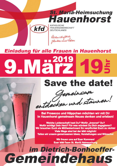 KFD: SAVE THE DATE