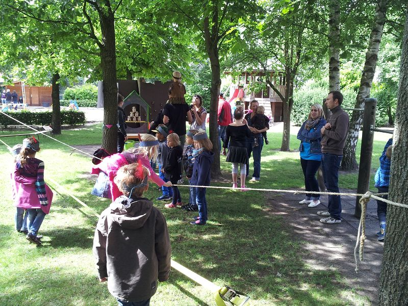 Sommerfest am Kindergarten
